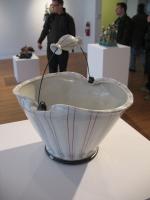 Artist: Lorna Meaden - Title: Popcorn Bucket