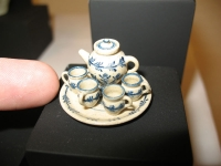 Artist: Jane Graber - Title: The Teaset: A Matter of Scale 1 inch
