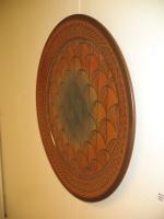 Artist: Mark Nafziger - Title: Fan Grid Platter